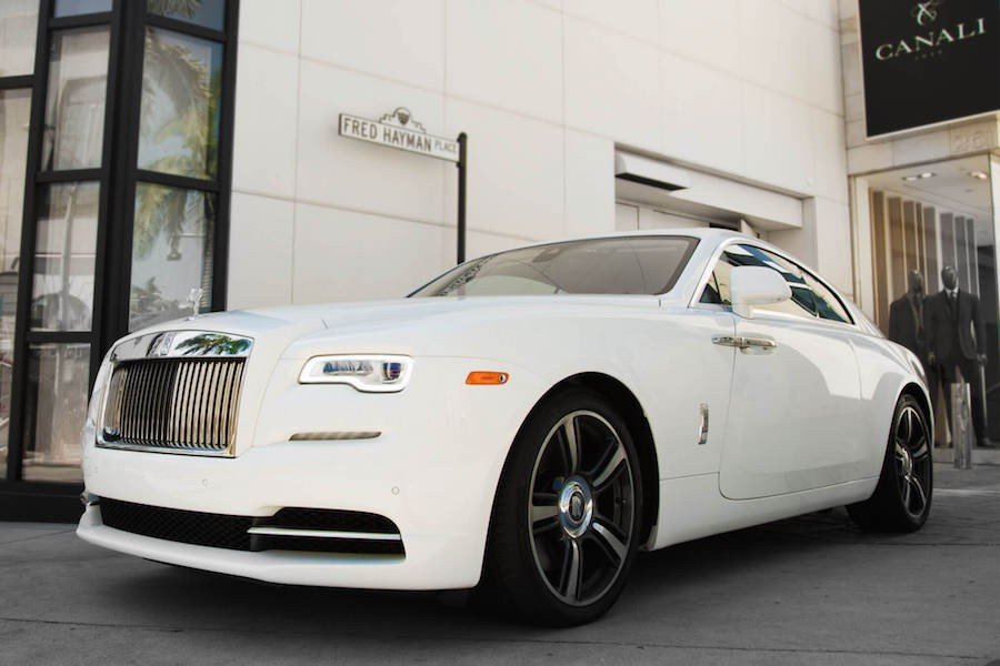 Rolls Royce Wraith Rental Los Angeles